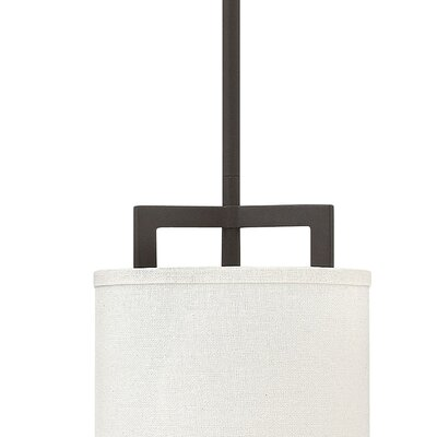 Hampton 1-Light Mini Pendant Finish: Buckeye Bronze, Bulb Type: 26W GU24