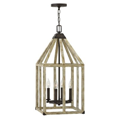 Emilie 4-Light Lantern Pendant