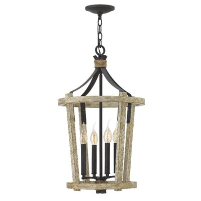 Sherwood 4-Light Lantern Pendant