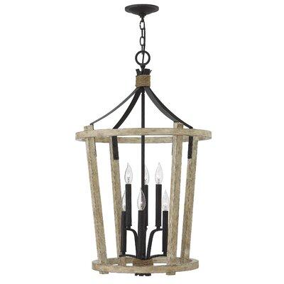 Sherwood 6-Light Lantern Pendant