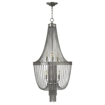 Regis 6-Light Empire Chandelier