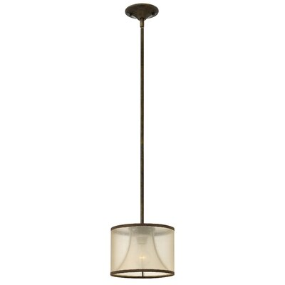 Roaden 1-Light Mini Pendant Finish: Bronze