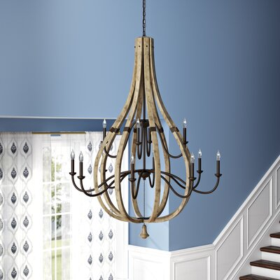 Oceane 12-Light Candle-Style Chandelier