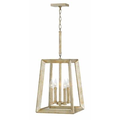 Marston Single Tier 4-Light Lantern Pendant