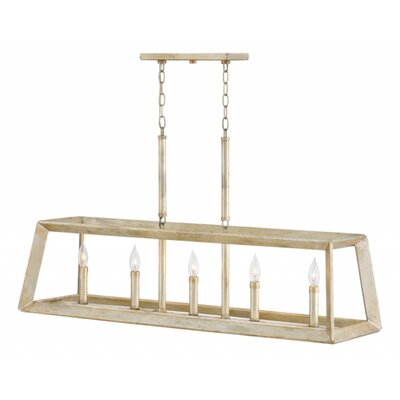 Marston Linear 5-Light Kitchen Island Pendant