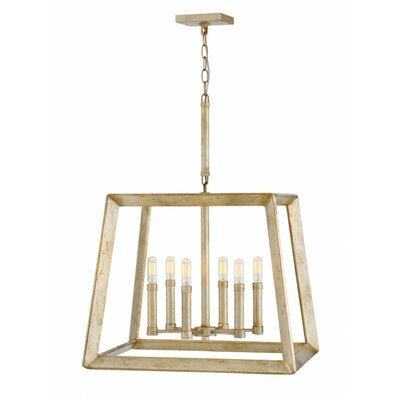 Marston Single Tier 6-Light Lantern Pendant