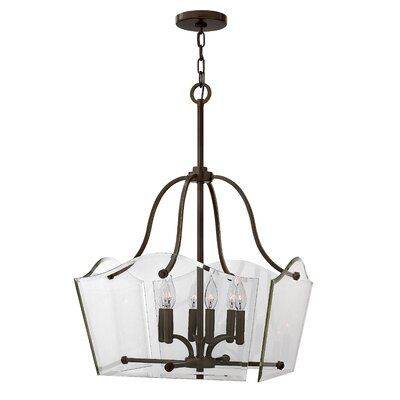 Wingate 6-Light Candle-Style Chandelier Finish: Oil Rubbed Bronze