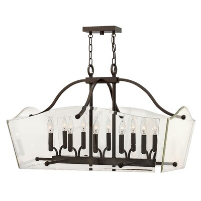 Wingate 10-Light Foyer Pendant Finish: Oil Rubbed Bronze