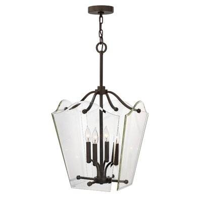 Wingate 4-Light Invert Foyer Pendant Finish: Oil Rubbed Bronze