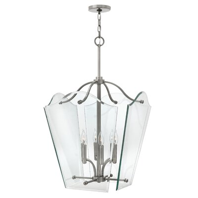 Wingate 4-Light Foyer Pendant Finish: Polished Antique Nickel