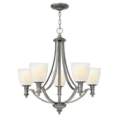 Meadville 5-Light Shaded Chandelier