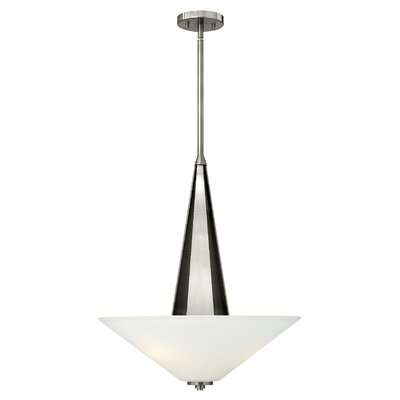 Victory 3-Light Invert Foyer Inverted Pendant