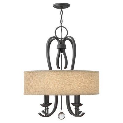 Marion 4-Light Drum Chandelier