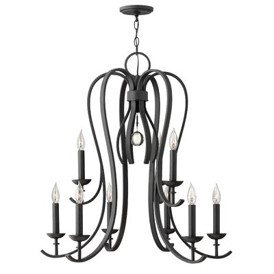 Marion 9-Light Candle-Style Chandelier