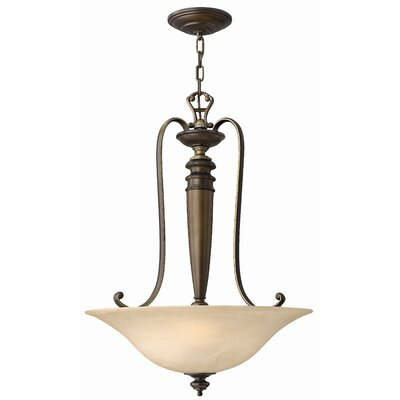 Dunhill 3-Light Invert Foyer Inverted Pendant