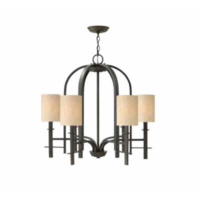 Gadre 6-Light Shaded Chandelier