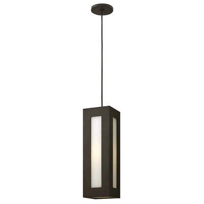 Dorian 1-Light Mini Pendant Finish: Bronze