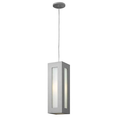 Hollenbeck 1-Light Mini Pendant Finish: Titanium