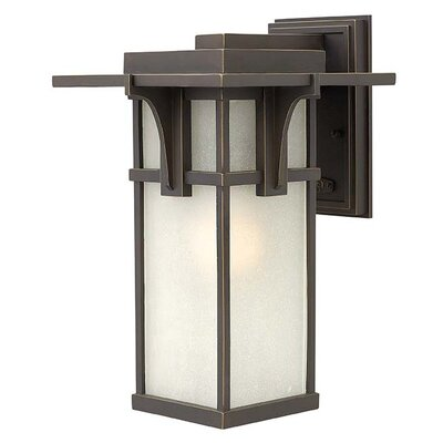 Manhattan 1-Light Outdoor Sconce