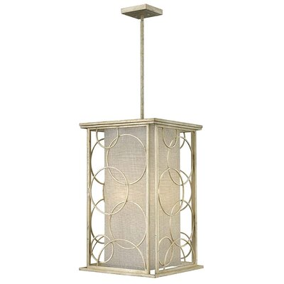 Flourish 6-Light Foyer Pendant Size: 27.5 H x 16 W x 16 D
