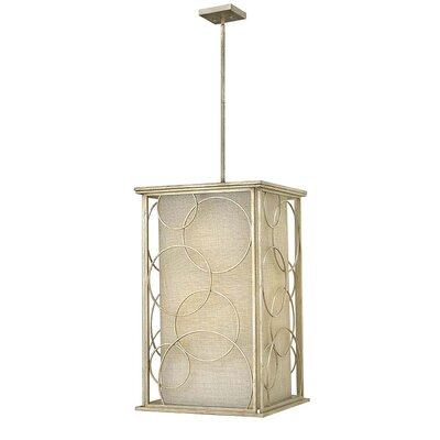 Flourish 6-Light Foyer Pendant Size: 33.5 H x 20 W x 20 D