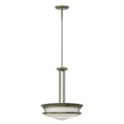 Hadley 4-Light Bowl Pendant Finish: Antique Nickel, Bulb Type: Incandescent