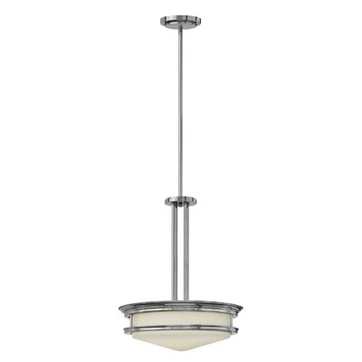 Hadley 4-Light Inverted Foyer Flush Mount Finish: Chrome, Bulb Type: Incandescent