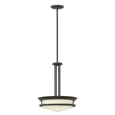 Hadley 4-Light Inverted Foyer Flush Mount Finish: Oil Rubbed Bronze, Bulb Type: Incandescent