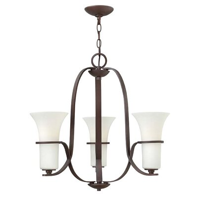 Lauren 3-Light Semi Flush Mount