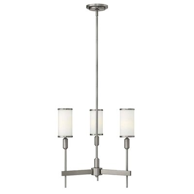 Princeton 3-Light Shaded Chandelier