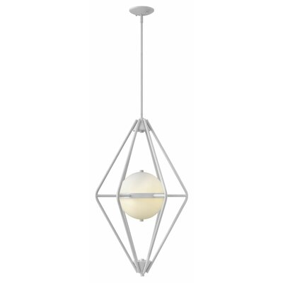 Spectra 2-Light Foyer Pendant Finish: Cloud
