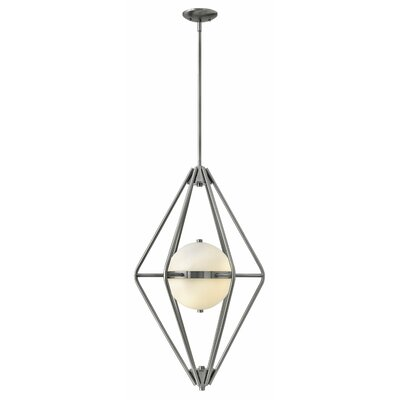 Spectra 2-Light Foyer Pendant Finish: Pewter