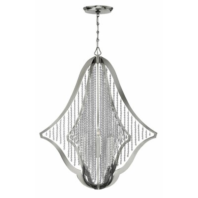 Bijou 6-Light Crystal Chandelier