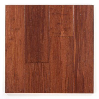 5 Engineered Bamboo  Flooring in Almond