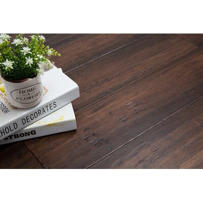 5 Engineered Bamboo  Flooring in Clove