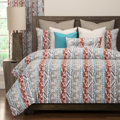 Navajo Luxury Duvet Cover Set Size: Full