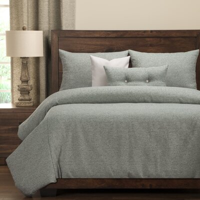 Belmont Duvet Set Size: California King, Color: Brown