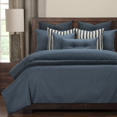 Camelhair Duvet Set Size: Queen, Color: Stonewash