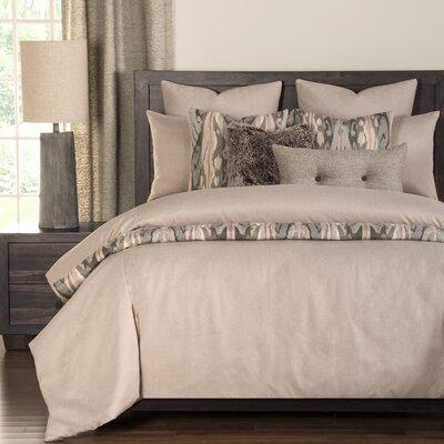 Camelhair Duvet Set Size: King, Color: Tan