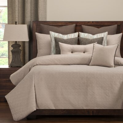 Saddleback Duvet Set Size: Queen, Color: Dusk