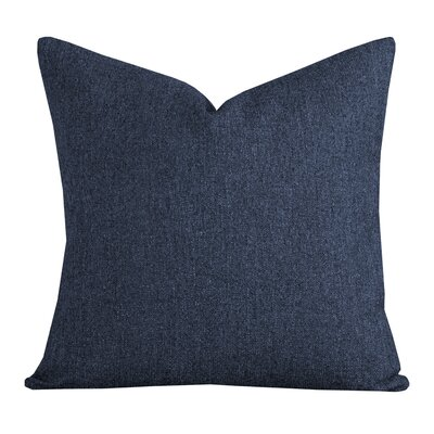 Belmont Throw Pillow Size: 26 H x 26 W x 6 D, Color: Deep Blue