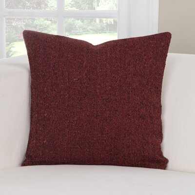 Belmont Throw Pillow Size: 26 H x 26 W x 6 D, Color: Blaze