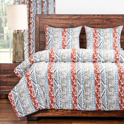 Navajo 3 Piece Comforter Set Size: Twin