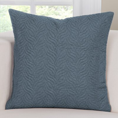 Saddleback Throw Pillow Size: 16 H x 16 W x 6 D, Color: Blue