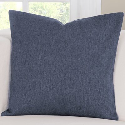 Throw Pillow Size: 26 H x 26 W x 6 D, Color: Stonewash