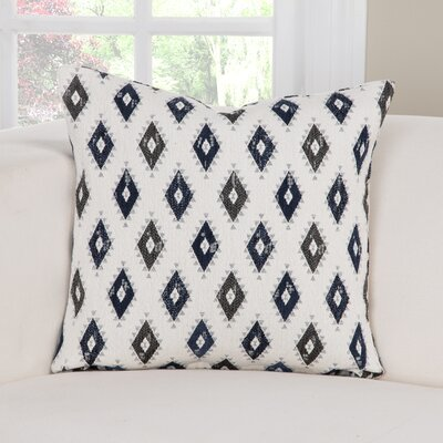 Cherokee Accent Throw Pillow Size: 26 H x 26 W x 6 D, Color: Blue/Gray