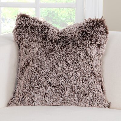 Bear Shag Accent Throw Pillow Size: 20 H x 20 W x 6 D