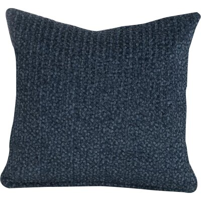 Tumbleweed Stone Throw Pillow Size: 26 H x 26 W x 6 D, Color: Indigo