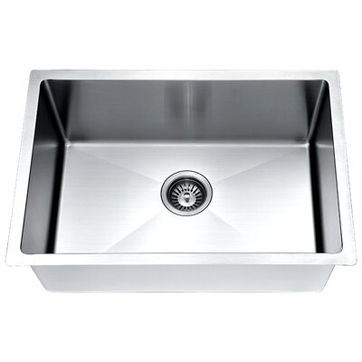 30 x 18 Small Radius Single Bowl Kitchen Sink