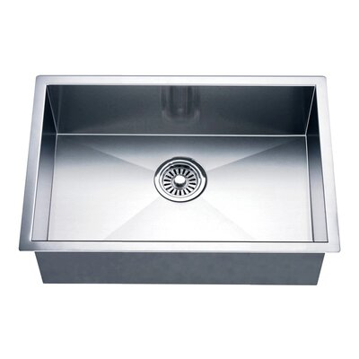 26 x 18 Single Bowl Kitchen Sink